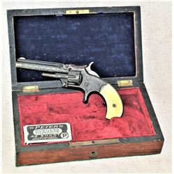 Fine Factory Engraved Cased Smith and Wesson Revolver