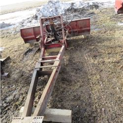 Cancade front mount tractor blade