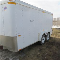 U S cargo 14ft end closed full rear door also right side door
