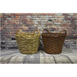 (2) Large Baskets