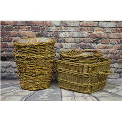 (4) Large Baskets/Planters