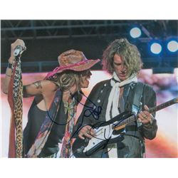 Aerosmith: Steven Tyler and Joe Perry Oversized Signed Photograph