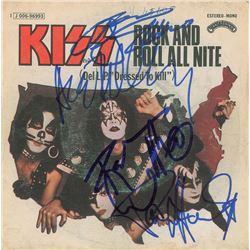 KISS Signed 45 RPM Record