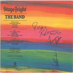 The Band Signed Album