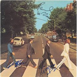 Beatles: McCartney, Harrison, and Starr Signed Album