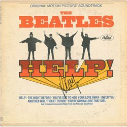Beatles: Ringo Starr Signed Album