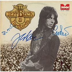 Jeff Beck and Yardbirds Signed Album