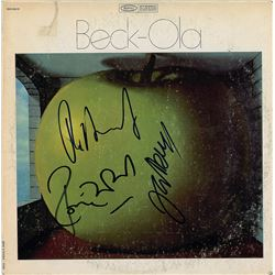 The Jeff Beck Group Signed Album