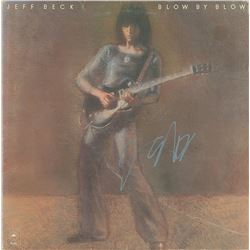 Jeff Beck Signed Album