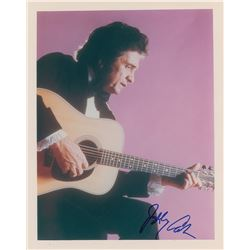 Johnny Cash Signed Photograph