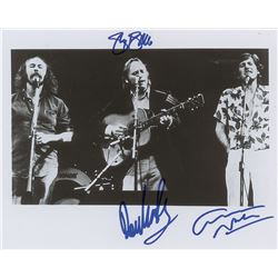 Crosby, Stills and Nash Signed Photograph
