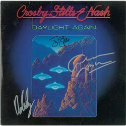 Crosby, Stills, and Nash Signed Album