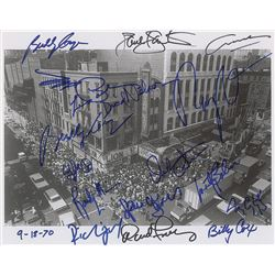 Fillmore East Oversized Multi-signed Photograph