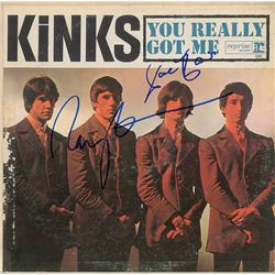 The Kinks Signed Album