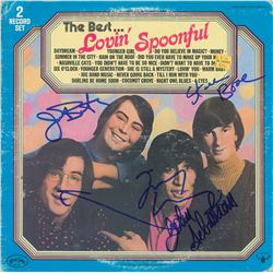 The Lovin' Spoonful Signed Album