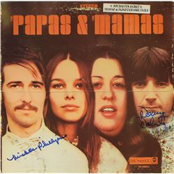 The Mamas and the Papas Signed Album