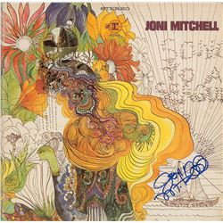 Joni Mitchell Signed Album