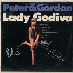 Peter and Gordon Signed Album