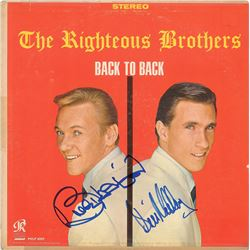 The Righteous Brothers Signed Album