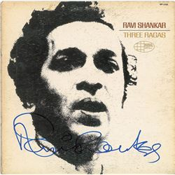 Ravi Shankar Signed Album