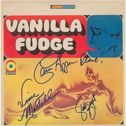 Vanilla Fudge Signed Album