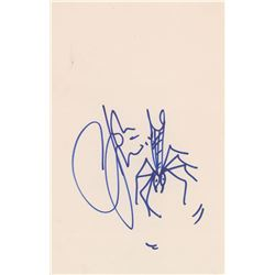 The Who: John Entwistle Signed Sketch