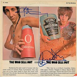 The Who: Pete Townshend and Roger Daltrey Signed Album