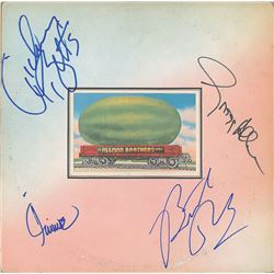Allman Brothers Band Signed Album