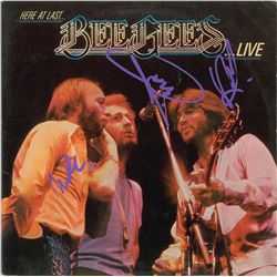 Bee Gees Signed Album