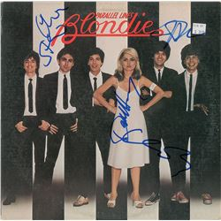 Blondie Signed Album