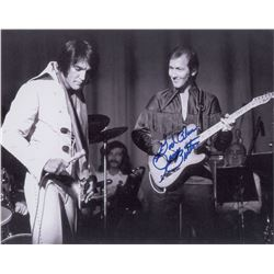 James Burton Oversized Signed Photograph