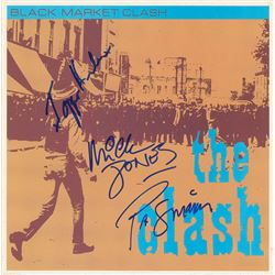 The Clash Signed Album
