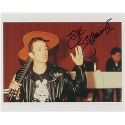 The Clash: Joe Strummer Signed Photograph