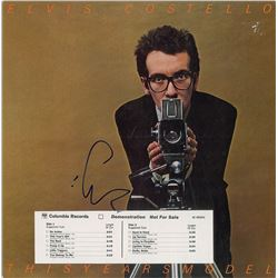 Elvis Costello Group of (3) Signed Albums