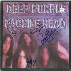 Deep Purple Signed Album