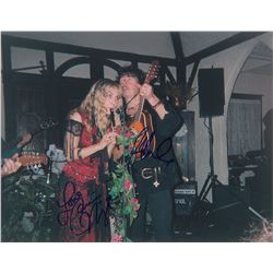 Deep Purple: Ritchie Blackmore and Candice Night Oversized Signed Photograph