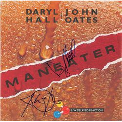 Hall and Oates Signed Album