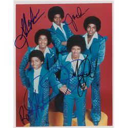 The Jackson 5 Signed Photograph