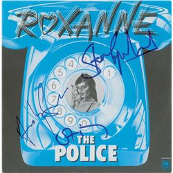 The Police Signed 45 RPM Record