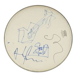 The Police Signed Drum Head