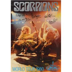 Scorpions Signed Poster