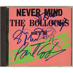 The Sex Pistols Signed CD