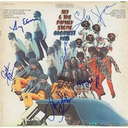 Sly and the Family Stone Signed Album