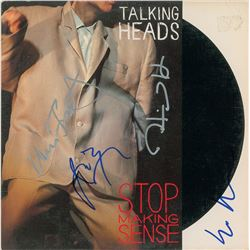 Talking Heads Signed Album