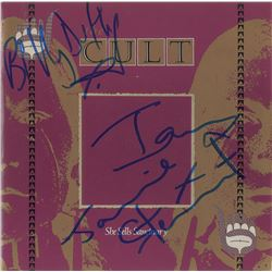 The Cult Signed 45 RPM Record