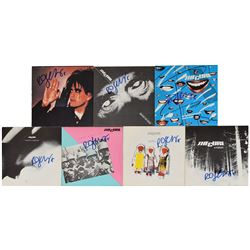 The Cure: Robert Smith Multi-Signed 45 RPM Record Box Set