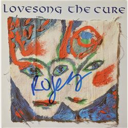 The Cure: Robert Smith Signed 45 RPM Record