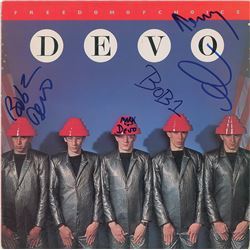 Devo Signed Album