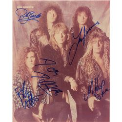 Dokken Signed Photograph