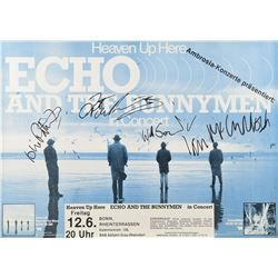Echo and the Bunnymen Signed Poster